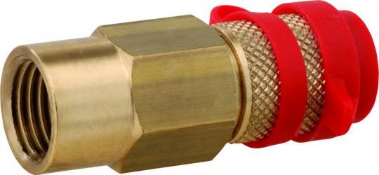 Steckkupplung Messing Typ SKU