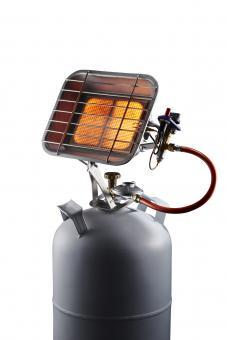 Gas-Heizstrahler 4400 mit Piezozündung