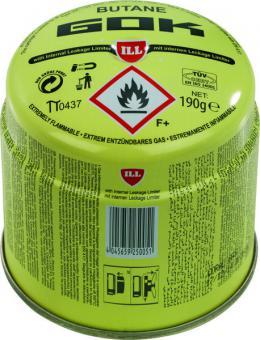 Gas-Stechkartusche